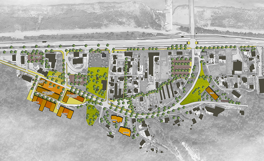 Schéma d'aménagement agence urbanisme