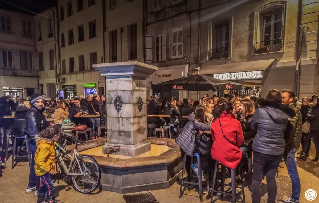 Avignon Carnot Carreterie inauguration SAFRAN urbanisme centre ville