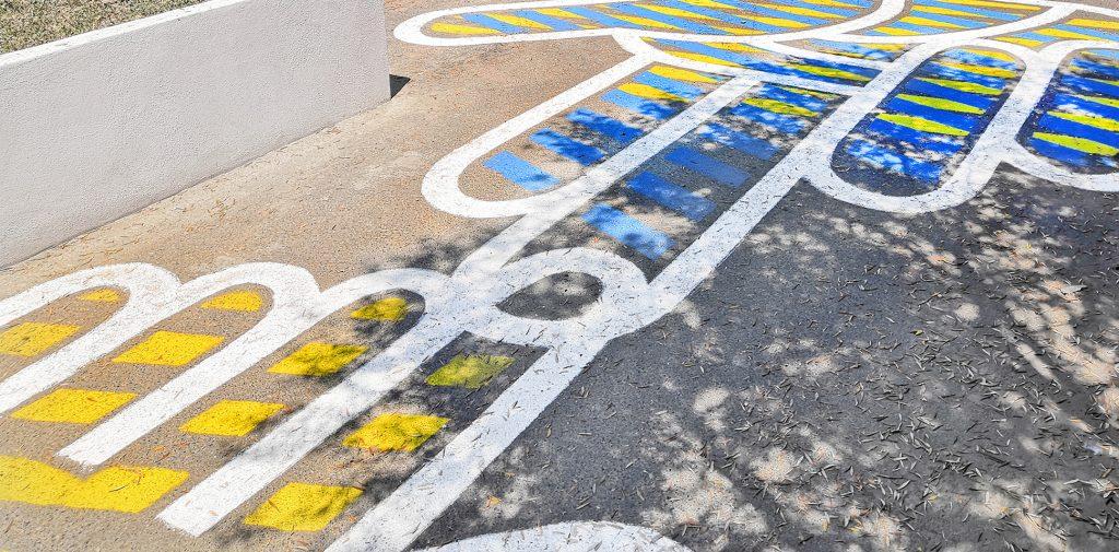 asphaltart - design signaletique SAFRAN Bastia